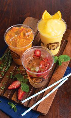 Охлаждаемся чаем со льдом в Кофе Хауз: Чай «Облепиха Айс», Чай «Фейхоа  Айс» и Чай-смузи  «Жасмин-маракуйя»
