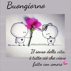 uongiorno☕💝☕☕💝☕☕😘��� Italian Memes, Day For Night, Good Morning, Street Art, Instagram, Mary Poppins, Tweety, Couple, Facebook