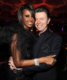 Pin for Later: Diese Promis lassen uns noch an die ewige Liebe glauben David Bowie und Iman Der Musiker und das Supermodel heirateten 1992, nur ein Jahr nachdem sie einander vorgestellt wurden.