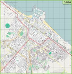 Large detailed map of Piacenza Maps Pinterest Italy