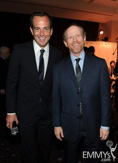 Will Arnett and new inductee Ron Howard at The Television Academy's 22nd Hall of Fame Induction Ceremony