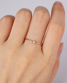 alternative engagement ring ideas - minimalist #unique #interesting #modern #artdeco #vintage #estate #engagementring #simple #nontraditional #affordable
