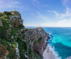 Cape Town South Africa, Table Mountain, Lighthouse, Bing Images, National Parks, Earth, Outdoor, Country, Water