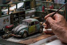 1.24 scale Die Cast VW Beetle 1969 by Eddie Putera Noordin