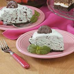 Thin Mint Grasshopper Pie!
