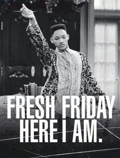 Friday's back and fresh as ever! We hope you have a great weekend! :) #TGIF #Friday