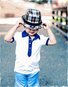 Plaid Toddler Fedora Hat - Stella Maternity