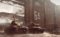 Download wallpapers TVP T 50, WoT, World of Tanks, tanks, Skoda T 50, Czechoslovakian tanks