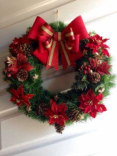 Letters and Arts of Lalá - Oscar Wallin Country Christmas Decorations, Christmas Centerpieces, Xmas Decorations, Holiday Decor, Christmas Mood, Christmas Crafts, Christmas Ornaments, Christmas Aesthetic, Diy Wreath