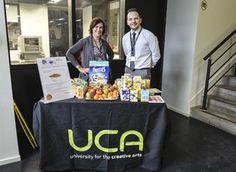 Breakfast awareness day in UCA Farnham. #BreakfastWeek