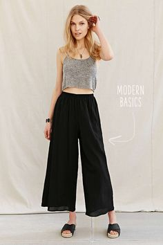 get the look // wide leg pants for spring