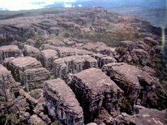 Meseta o cumbre del Roraima Tepuy, Venezuela