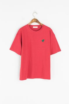 Cactus Embroidered Tee - Olive Clothing.