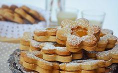 Troll a konyhámban: Gesztenyés linzer narancslekvárral töltve - paleo Cookies, Desserts, Recipes, Troll, Food, Crack Crackers, Tailgate Desserts, Deserts, Biscuits