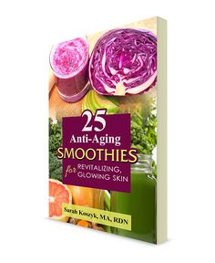 25 Anti-Aging Smoothies for Revitalizing, Glowing Skin- Book Giveaway! | Check out @sarahkoszykrd new book -- we love it! http://www.amazon.com/gp/product/1523698225/ref=as_li_tl?ie=UTF8&camp=1789&creative=9325&creativeASIN=1523698225&linkCode=as2&tag=famifoodfies-20&linkId=BQ7BBOG2GYB6G33A
