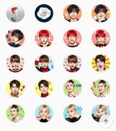 B.A.P Rose V app stickers