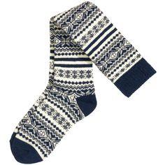 H&M Knee socks in a wool blend ($11) ❤ liked on Polyvore featuring intimates, hosiery, socks, h&m, socks/tights, knee high socks, h&m socks, ribbed socks and knee socks