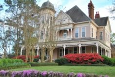 Kosciusko, MS ... This house is on the end of my street!!! It's gorgeous but they say it's haunted. Weird seeing it on Pinterest