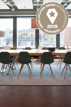 Swiss Location Award 2019: Der Gewinner der besten Meetinglocation ist der Welle7 Workspace in Bern! Herzliche Gratulation! Alle ausgezeichneten Meetinglocations findet ihr hier: eventlokale.ch/gewinner-ueberblick