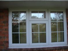UPVC DOUBLE GLAZED WINDOW GEORGIAN BARS STYLE w180cm x h116cm XLent COND LOCKABL