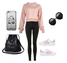 """""""Untitled #576"""" by fernand15233384 on Polyvore featuring Topshop and adidas Originals"""