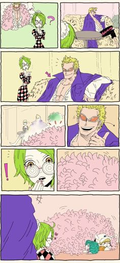 Donquixote Family Donquixote Doflamingo Joker Monet Dellinger Sugar One Piece One Piece Anime, One Piece Comic, One Piece 1, One Piece Fanart, One Piece Pictures, One Piece Images, Tsurezure Children, Manga Anime, One Peace
