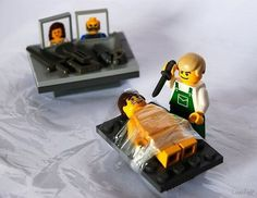 Dexter. Probably not for children, but I would buy this Dexter lego set :-)