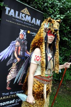 The Shaman comes alive, you better watch out if you haven't already bought her. She's after your blood for SpecialEffect! How To Raise Money, Cool Watches, Charity, Competition, Blood, Princess Zelda, Fictional Characters, Fantasy Characters