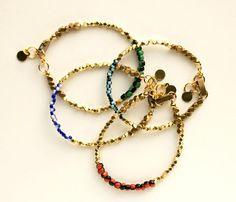 Beaded Golden Bracelet