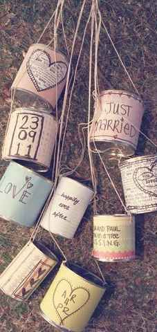 love but where? Fun Wedding Car Cans | Fun Wedding Ideas | The Mindful Shopper