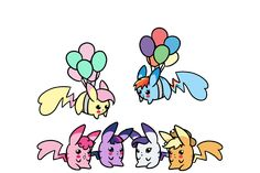 my little pony chibi | My Little Pony Friendship is Magic mlp chibi pikachus