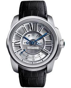 Handmade Platinum Cartier Watch