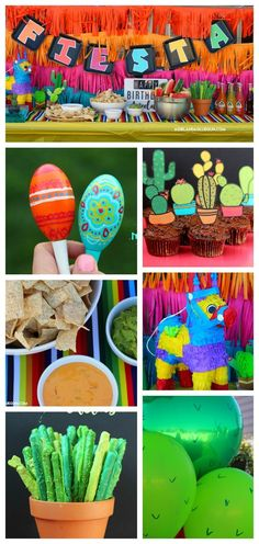 Fiesta party – A girl and a glue gun - Geburtstag Mexican Birthday Parties, Mexican Fiesta Party, Fiesta Theme Party, Taco Party, Birthday Party Themes, Mexico Party Theme, Fun Party Themes, Themed Parties, Birthday Ideas
