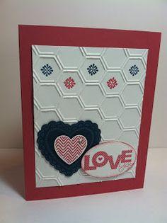Wednesday, January 9, 2013Hearts a Flutter Valentine Card