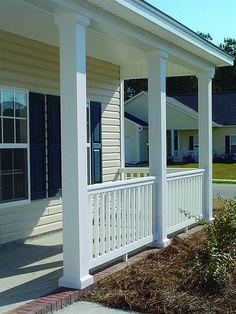 Replacing a wood porch post a concord carpenter wood for Cypress porch columns
