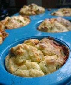 Broccoli and Cheese Muffins - Baby Led Weaning