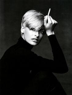 Patrick Demarchelier: Linda Evangelista, 1990s.