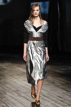 Prada Fall 2013 Ready-to-Wear Fashion Show - Tilda Lindstam