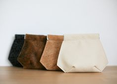 Snapclosure wallet | Portemonnee met knijpsluiting