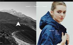 North Face Visual Identity on Branding Served