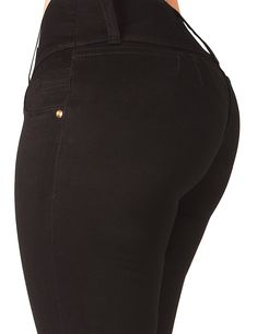 68ef878b92c Curvify High Waisted Butt Lifting Stretch Jeans