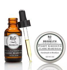 Beard Oil + Beard Balm Duo