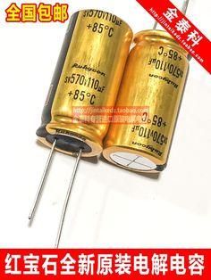 4pcs RUBYCON electrolytic capacitor 570V110UF 18X35 SW generation 120UF450V 110UF free shipping. #4pcs #RUBYCON #electrolytic #capacitor #570V110UF #18X35 #generation #120UF450V #110UF #free #shipping