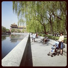 Outside of the Forbidden City