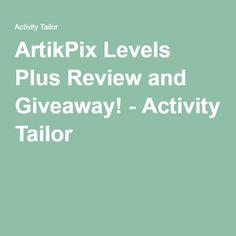 ArtikPix Levels Plus Review and Giveaway! - Activity Tailor