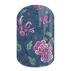 Koi Pond - Whether you are staying in or going out, this wrap will complement any outfit.      #KoiPondJN  Jamberry Nail Wraps