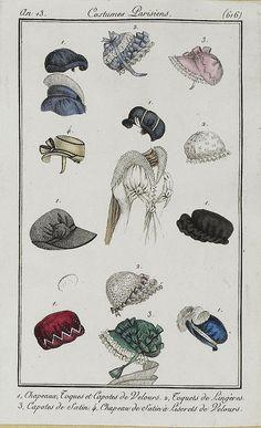 Bonnets an 13 costume parisien