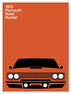 Print Collection - Plymouth Road Runner, 1970