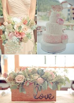 There is one word that I want to scream from the rooftops right now and that is love. Love, love, love, love! I am just filled with it after gushing over these beyond-dreamy images byRebecca Amber Photography. We haveSpread Love Events to thank for creating the prettiest romantic and rustic details. The look is soft,…