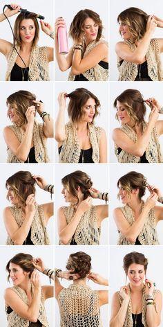 lockere-hochsteckfrisuren-kurze-haare-locken-zwirbeln-steckfrisur-selber-machen